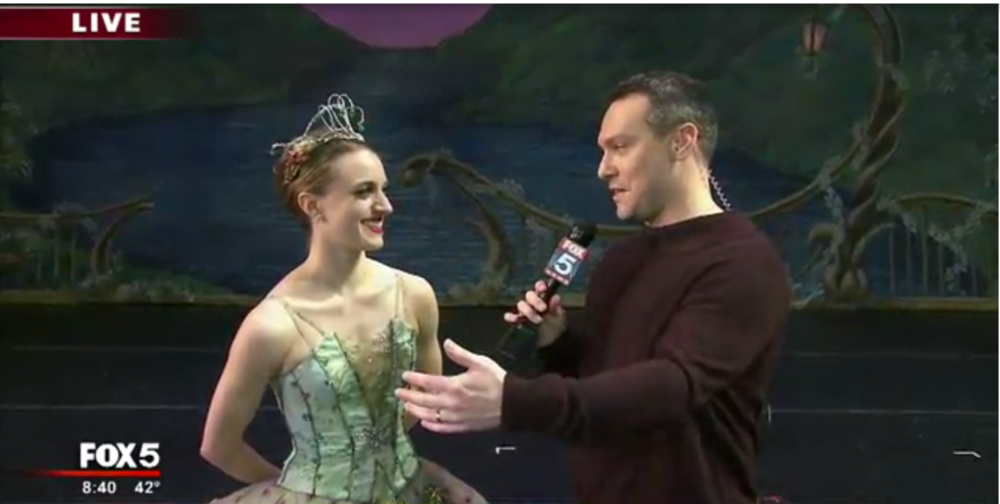 Good Day Atlanta Interviews our Dew Drop Fairy