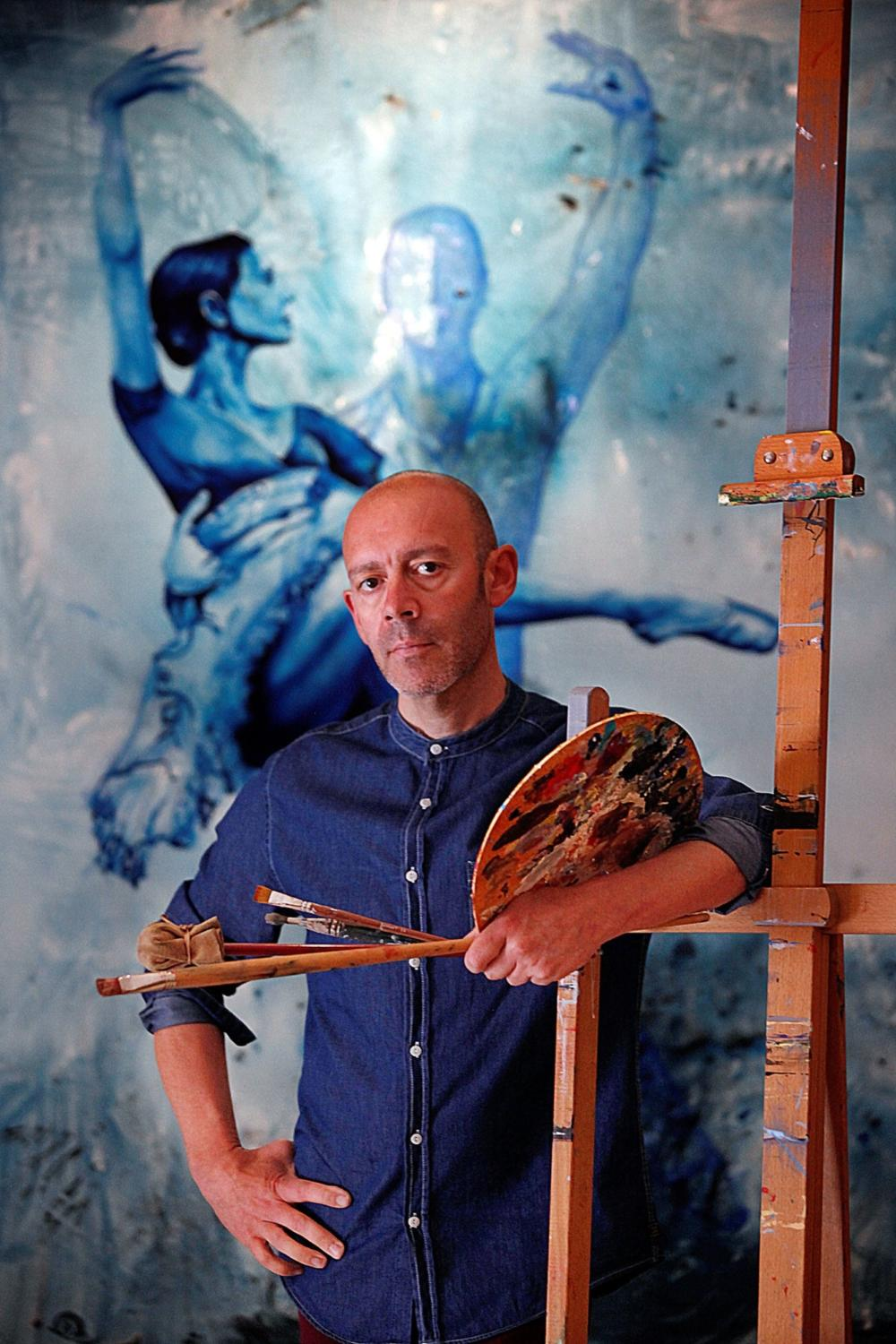 "Join Us at the Opening Reception of ""Balletomane,"" Paintings by Antonio Torres, Feb 1 & 2"