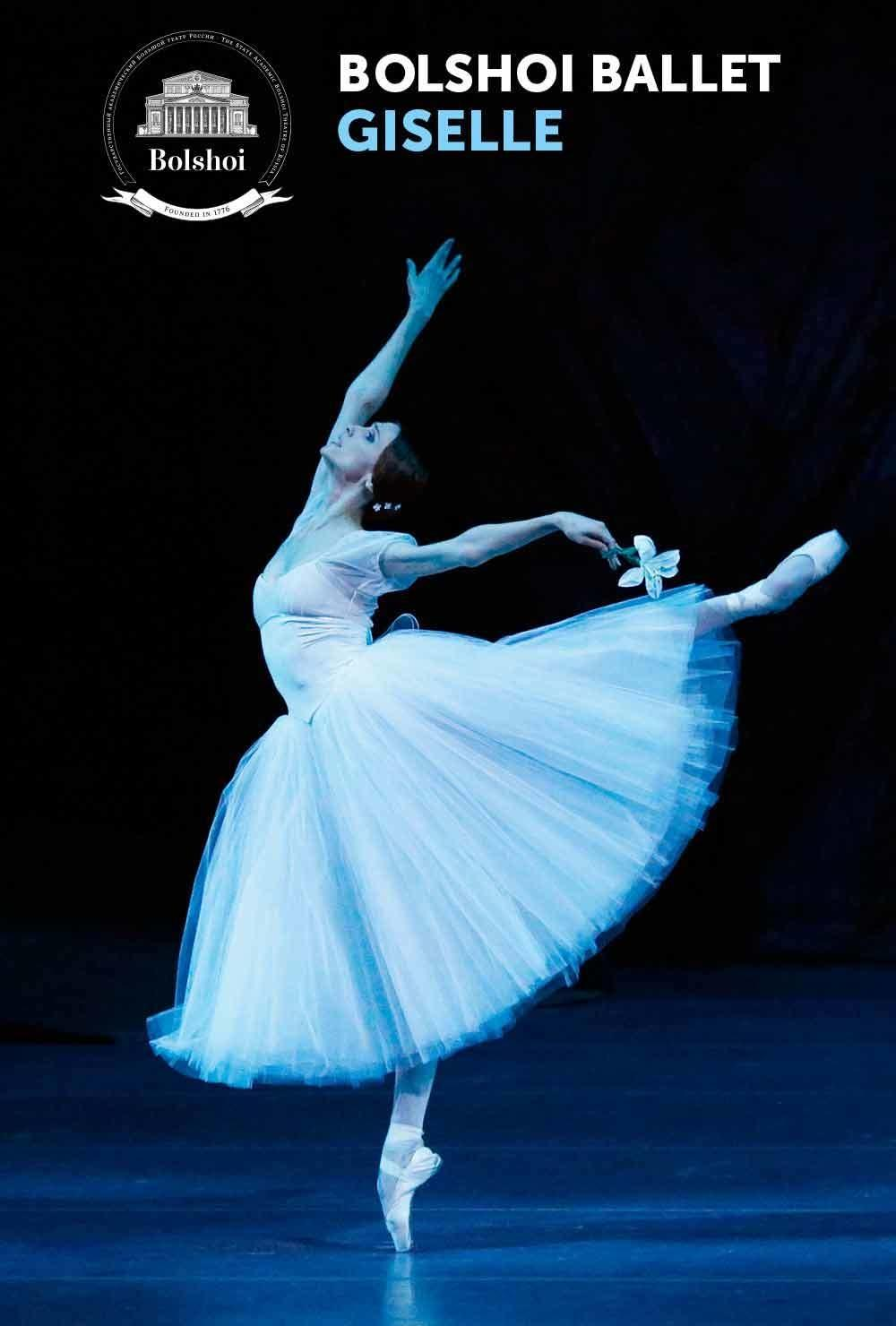 See Bolshoi in Cinema's Presentation of Giselle April 8