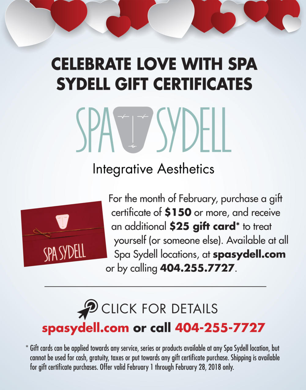 Special Valentine's Offer from Spa Sydell