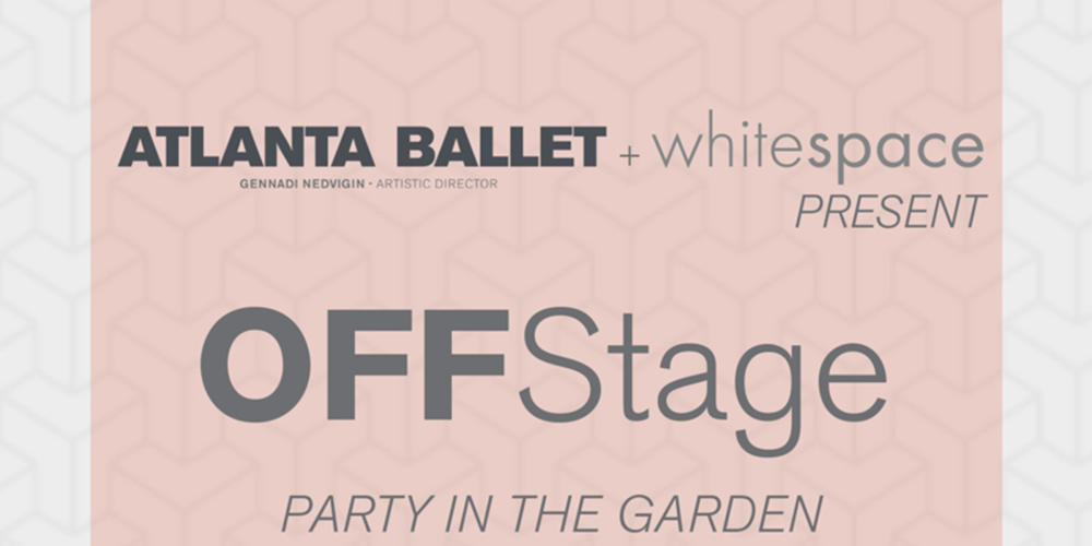 POSTPONED: OFFStage Party in the Garden