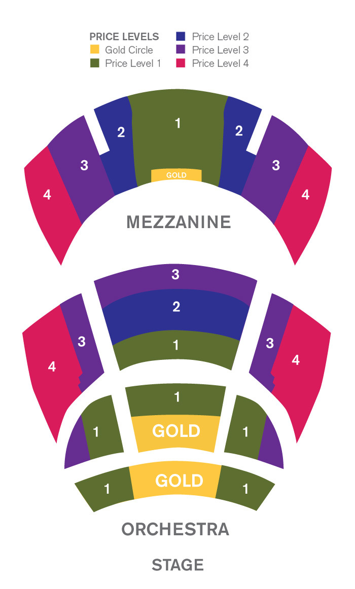 Seating chart for Cobb Energy Performing Arts Centre
